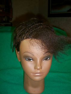 Destiny by CLIC - Cosmetology Mannequin Head 100% Human Hair Afro Black Hair - http://health-beauty.goshoppins.com/salon-spa-equipment/destiny-by-clic-cosmetology-mannequin-head-100-human-hair-afro-black-hair/