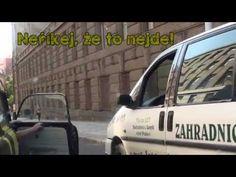 Trabantem napříč středem Prahy - YouTube