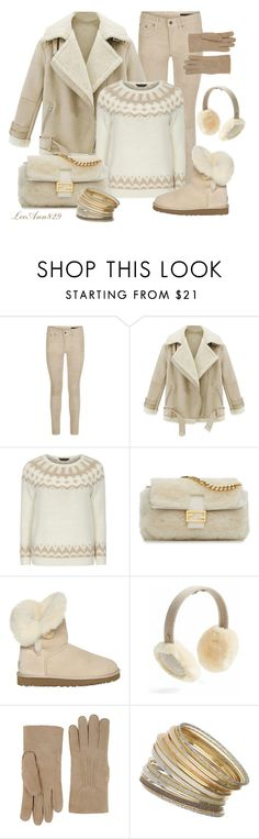 """shearling coat contest"" by leeann829 ❤ liked on Polyvore featuring rag & bone, Dorothy Perkins, Fendi, UGG Australia, AGNELLE, Wallis, women's clothing, women's fashion, women and female"