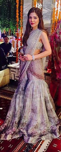 Ayesha Omar in customized Élan