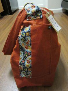 Handbag and Messenger bag by VirginiaBlueCouture on Etsy, $48.00