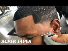 HAIRCUT TUTORIAL: SUPER TAPER BY CHUKA THE BARBER - YouTube Hair Cutter, Barber Shop, Rings For Men, Youtube, Men Rings, Barbers, Barbershop, Youtubers, Youtube Movies