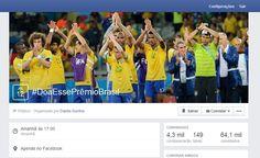 Campanha pede que Seleção doe prêmio da Copa