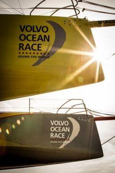 Abu Dhabi Destination Village | Volvo Ocean Race 2014-2015 Volvo Ocean Race, Daddy Go, The World Race, Family Matters, Race Day, Sailors, Abu Dhabi, Racing, Ships