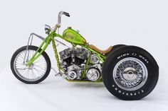 Indian Larry Motorcycles located in Brooklyn, NYC is the world's top custom motorcycle shop. Handmade one of a kind custom motorcycles. Custom Trikes, Custom Choppers, Custom Motorcycles, Triumph Motorcycles, Trike Motorcycle, Motorcycle Design, Motorcycle Style, Motorcycle Quotes, Hd Vintage
