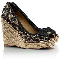 Tory Burch Jackie Wedge Espadrille on shopstyle.com