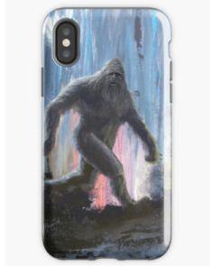 Original Sasquatch art on iphone cases Bigfoot Photos, Finding Bigfoot, Bigfoot Sasquatch, Jeep Accessories, Extinct Animals, Jeeps, Art Boards, Iphone Case Covers, Protective Cases
