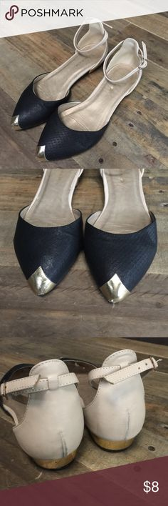 Shoe Republic Ankle Strap Flats Worn   No trades 🚫 Shoes Flats & Loafers