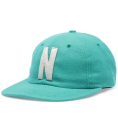Norse Projects Wool Flat Cap (Green)