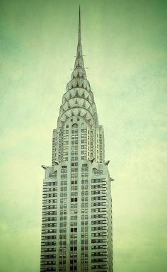 Chrysler Building - my favourite building of all time!
