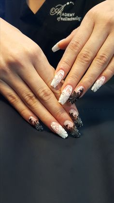 Black and White Nail Art - Nailpro
