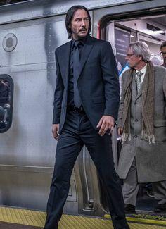 Keanu Reeves John Wick, Keanu Charles Reeves, Hollywood Actor, Hollywood Celebrities, John Wick Hd, Keanu Reeves Quotes, Blockbuster Film, Baba Yaga, Clint Eastwood