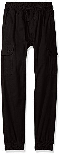 Southpole Big Boys Jogger Pants Washed Ripstop Fabric with Cargo Pockets Black Small >>> Find out more about the great product at the image link.Note:It is affiliate link to Amazon.