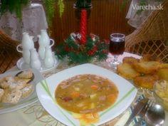 Hŕstková polievka s údeným rebierkom