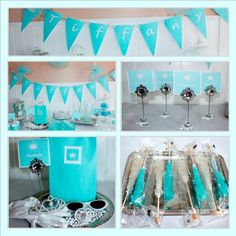 Breakfast at Tiffanys Party Ideas | Inspired by Breakfast at Tiffanys this party package is ready to go ...