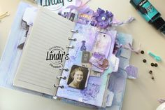 Mixed Media Planner by Phoebe Tonosaki