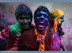 Ödüllü Seyahat Fotoğrafları  Renk festivali – Hindistan – Poras Chaudrary (Hindistan)