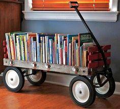 me encanta porque ya no tengo donde poner los cuentos y libros de mis hijos