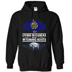 Living in Kansas with Wyoming Roots-bmqnngirpy - #gift ideas for him #handmade gift. LOWEST PRICE => https://www.sunfrog.com/States/Living-in-Kansas-with-Wyoming-Roots-bmqnngirpy-Black-Hoodie.html?68278