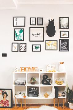 Inspiration wall, home office decor, diy home decor, bedroom decor, bedro.
