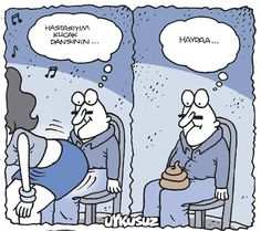 - Hastayım kucak dansının...  + Haydaa...  #karikatür #mizah #matrak #komik #espri #şaka #gırgır #komiksözler