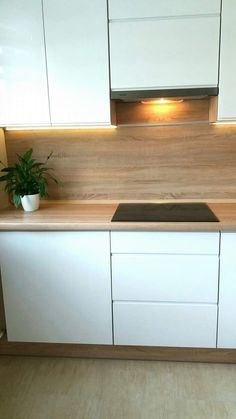 Contemporary style kitchen designs are among the methods to go. Kitchen Room Design, Ikea Kitchen, Modern Kitchen Design, Home Decor Kitchen, Interior Design Living Room, Home Kitchens, Kitchen Contemporary, Cuisines Design, Küchen Design