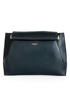 """Free shipping and returns on Nina Ricci 'Thais' Leather Clutch at Nordstrom.com. <p><B STYLE=""""COLOR:#990000"""">Pre-order this style today! Add to Shopping Bag to view approximate ship date. You'll be charged only when your item ships.</b></p><br>Expert pleating lends elegant shape to a slim-profile clutch secured with a leather-wrapped weighted bar closure. An optional shoulder strap allows for hands-free ease and effortless styling."""