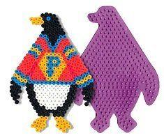 Penguin Perler Beads