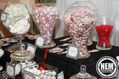 Keep your guest mouth watering for your candy station.