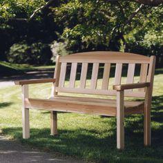 All Things Cedar Park 4 ft. Red Cedar Garden Bench