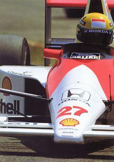McLaren - A.Senna
