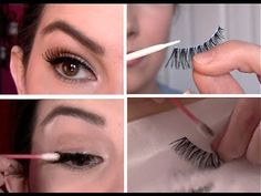 Perfect tutorial from one of my fave YouTube beauty gurus on how to apply false lashes!  Everything from which lashes to select to how to properly take them off & clean them for future use.