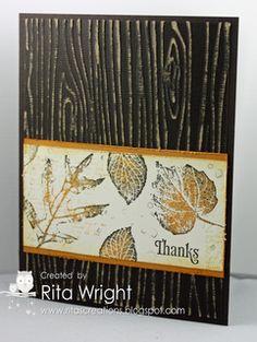 Rita's Creations: October Stamp Club