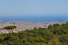 Soak up fresh air and scenic views at Collserola - Located on a mountain range just a short ride from the city centre, this huge natural forest attracts both locals and travellers. It's a top destination for nature-lovers and anyone wishing to enjoy great views of Barcelona. Accommodation: http://www.roomyeti.com/rentals/spain/barcelona/barcelona/