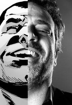 Comic Book Negan vs. TV Negan....Shit's about to get crazy!