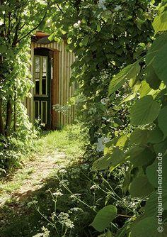 Durchblick im Garten www.refugium-im-norden.de
