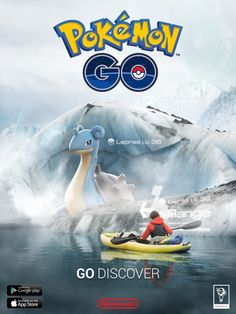 #Pokemon Go Promo Poster - Go Discover Pokemon Go Promo Poster - Go Discover from the official artwork set for #Pokemon Go on iOS and Android. #PokemonGo http://www.pokemondungeon.com/pokemon-go