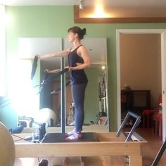 Joseph Pilates had it right - not too much sitting or lying down! The standing worn on the reformer is super challenging and requires focus…