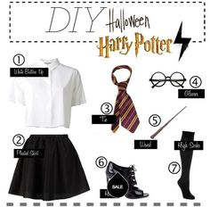 Harry Potter Halloween costume.