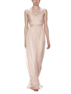 Take a look at this gorgeous Amsale Style bridesmaid dress in blush fabric! Available in sizes and tons of colors at Brideside. Shop online, try at home or visit one of our showrooms! Amsale Bridesmaid, Pink Bridesmaid Dresses, Prom Dresses, Formal Dresses, Bridal Collection, Fashion Dresses, Chiffon, Dresses For Work, Lace