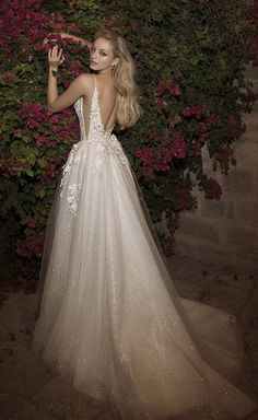 Courtesy of Dany Mizrachi Wedding Dresses; Wedding dress idea.