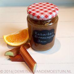 rabarber-sinaasappel jam