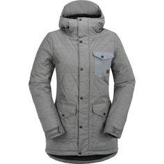 grey womens snowboard jacket Snowboards ce9f3b599b