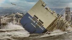 """La trainera Kaiku de Sestao, con la ayuda de la Amatxu y dos cojones, ha subido por la Ría a empujones hasta el puente del Arenal, en una arriesgada maniobra que ha durado 115 horas, al carguero de bandera panameña """"Modem Express"""" que se encontraba fuertemente escorado a estribor, rematando así una odisea que inició el Golfo de Bizkaia hace una semana. """"Suputamadre lo que pesaba"""", ha declarado el patrón de la trainera. Horarios de visita: de lunes a domingo, de 8 am - 17.30h. Entrada libre."""