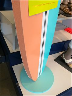 Surfing a Styrofoam Surfboard In Retail – Fixtures Close Up Old Navy Coupon, Retail Fixtures, Surfboards, Store Design, Close Up, Surfing, Display, Detail, Billboard