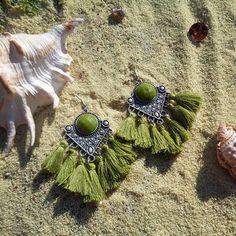#bohemian #medusa #bohoearrings #dangleearrings #handmade #handmadejewelry #gypsyjewelry #gypsylife #statementjewelry #boholife #bohochic #beachjewelry #greece #greekislands #gypsy #nature #bohemianstyle #freespirit #mermaid #handmadewithlove #gift #earrings #seashell #summeriscoming #summertime #tasselearrings