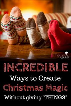 I LOVE this so much! THIS is what Christmas is all about!