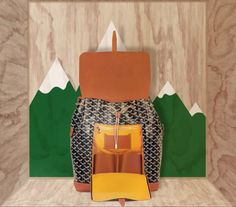 Inspired by the utilitarian elegance of the traditional packs, designed to be practical, this a must-have Goyard Alpin Backpack, read more here. Goyard Bag, Backpack, Product Launch, Traditional, Inspired, Elegant, Bags, Design, Bakken
