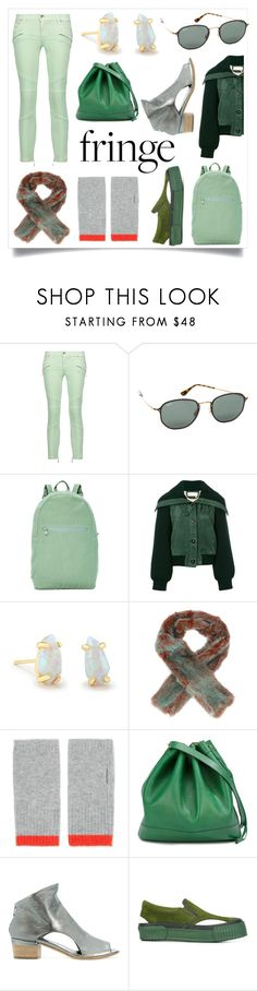 """""""Get the celebrity look"""" by emmamegan-5678 ❤ liked on Polyvore featuring Just Cavalli, Ray-Ban, BAGGU, Kendra Scott, Sies Marjan, Duffy, Officine Creative, Julien David and modern"""