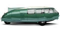 Norman Foster Rebuilds Buckminister Fullers 1933 Fuel Efficient Vehicle | Transportation on GOOD